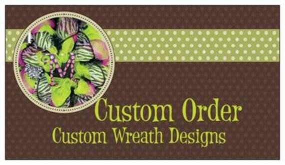 Custom Order of Kristen