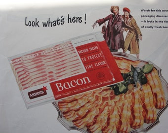 Vintage Armour Bacon ad