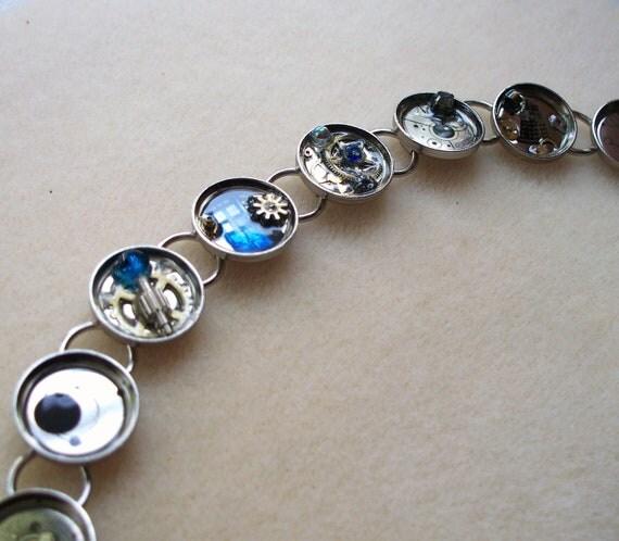 Doctor Who Gallifreyan Symbol Bracelet Silver -NOW ON SALE