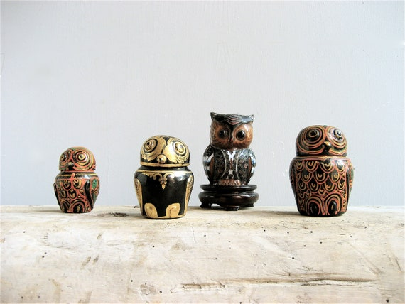 Vintage Owl collection