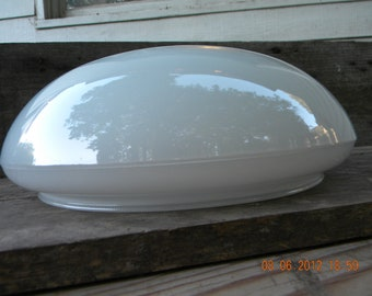 Large Light Cover 1970s flying saucer style