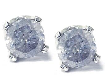 1/3CT Diamond Studs 925 Silver