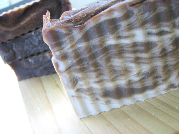 Cinnamon Sugar Swirl Cold Process Soap