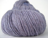 HEATHER Hand Dyed Yarn Merino Sock Weight Purple Local NY - spinningmulefibers