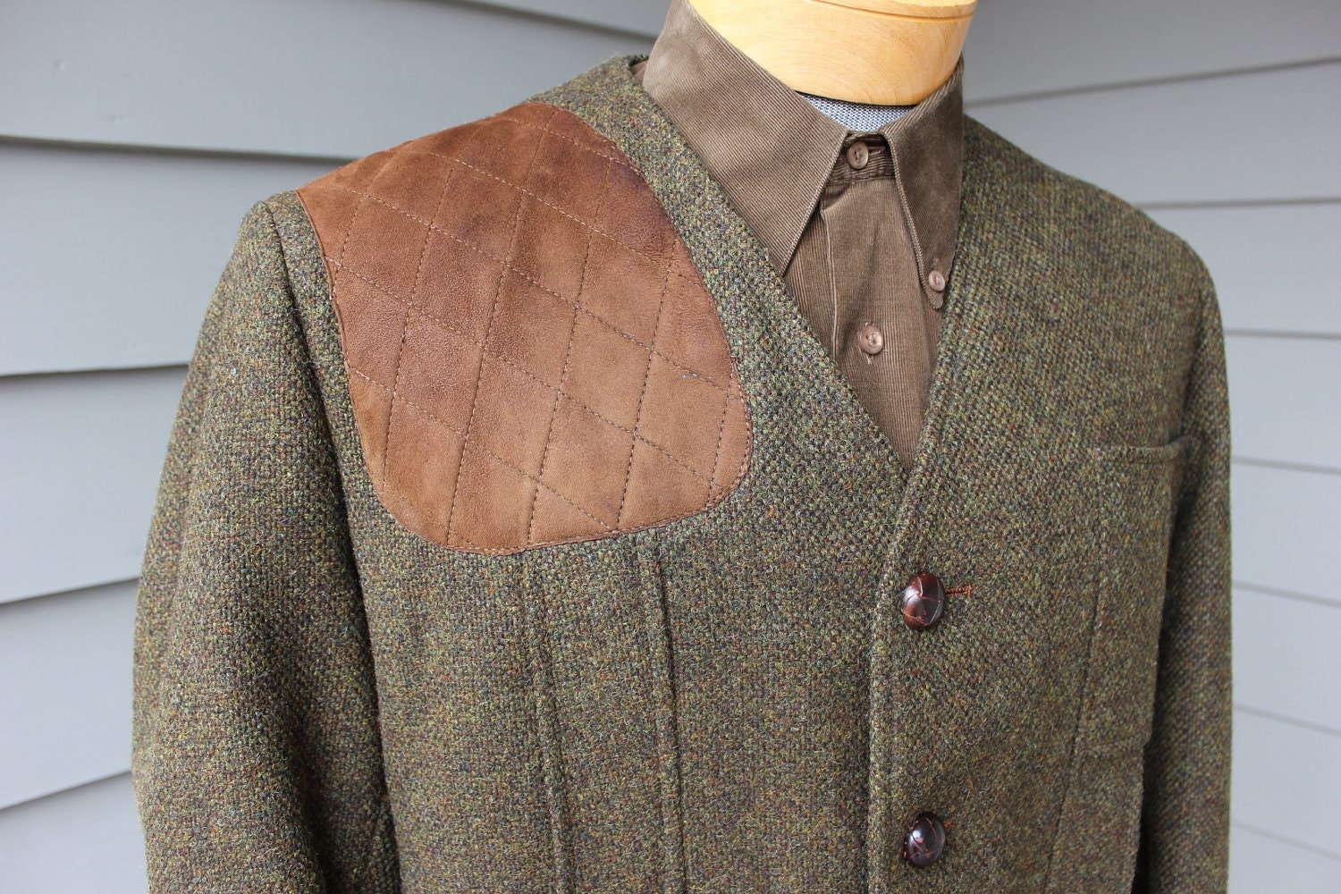 vintage 1960 s orvis s shooting jacket modified