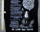 Network Movie My Life Has Value back patch