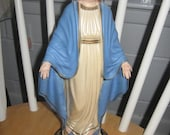 "12.5"" tall Hartland Plastics Hollow Mary Figure"