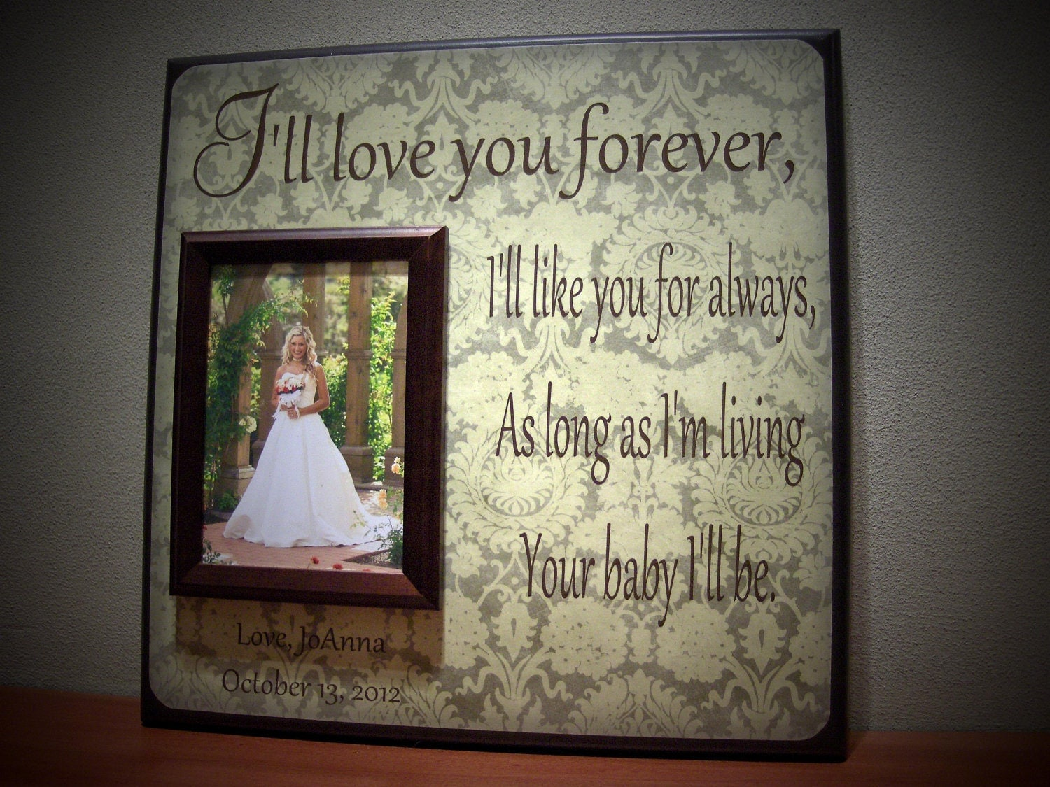 Parents Gift Wedding: Request A Custom Order And Have Something Made Just For You