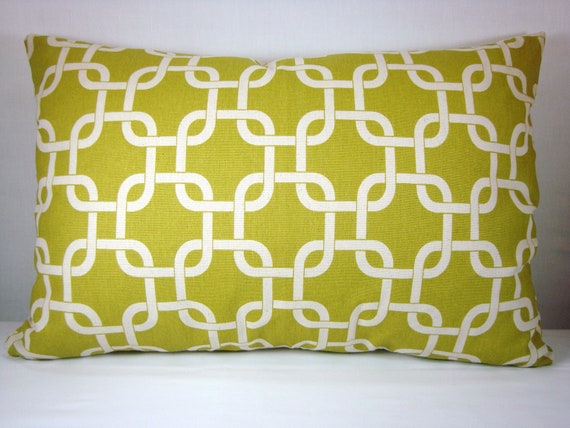 13X20 Citrine Decorative Accent Pillow Cover