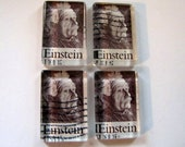 Einstein postage stamp magnets