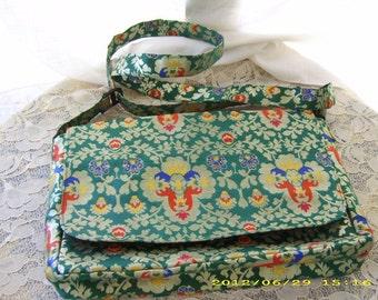 Vintage Never Used Colorful Purse Handbag Tote