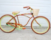 Real Rideable Bicycle Custom Beach Cruiser Bike 250 obo