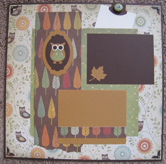 Fall 12 x 12 Layout - Owls