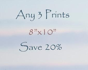 20% off - Select Any Three 8x10 fine art horse prints - Photograph - Horse Art