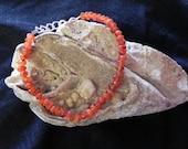 Red Carnelian Agate Bracelet