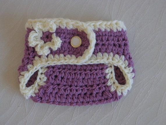 Crochet Newborn Diaper Cover : Newborn Diaper Cover Girl, Baby Diaper Cover, Crochet Diaper Cover ...