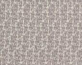 Half Yard Tangled Threads in Mist Grey, Mama Said Sew, Sweetwater, Moda Fabrics, 100% Cotton Fabric