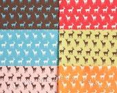 Fat Quarter Bundle Oh Deer Tiny Deer, 6 Pieces, Momo, Moda Fabrics, 100% Cotton Fabric