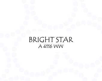 Half Yard Bright Star Pearl Bracelet, Lizzy House for Andover Fabrics, 100% Cotton Fabric, A 4116 WW