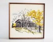 Autumn Crewel Embroidery