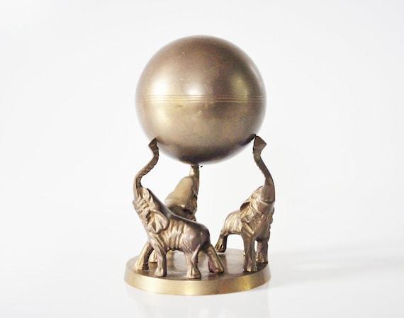 Brass Circus Elephants