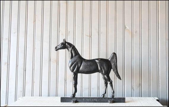 RESERVED // Cast Iron Horse // Virginia Metalcrafters Doorstop