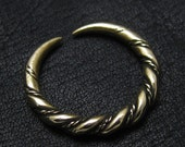 Bronze Viking ring from Gotland