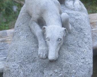 Concrete Greyhound Statue or Memorial