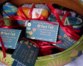 100 Bars  FELTED soaps..BuY iN BULK ..WHOLESALE pricing for resale in your shop
