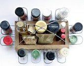 Not Your Average Spice Rack - Spice Holder Fits ALL sizes of Spice Containers, Functional Kitchen Decor, Great Gifts for Foodies