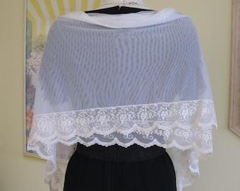 bridal shawl, shawl wedding, ivory lace shawl, wedding shawl