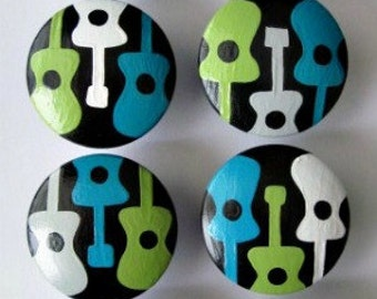 Mono Guitar, Rock and Roll, Knobs, Drawer Pulls
