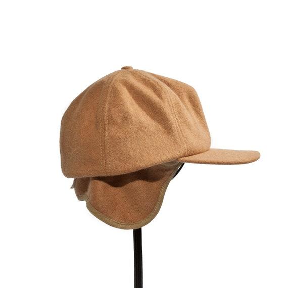 Vintage Felt Hunting Hat in a Golden Brown Color