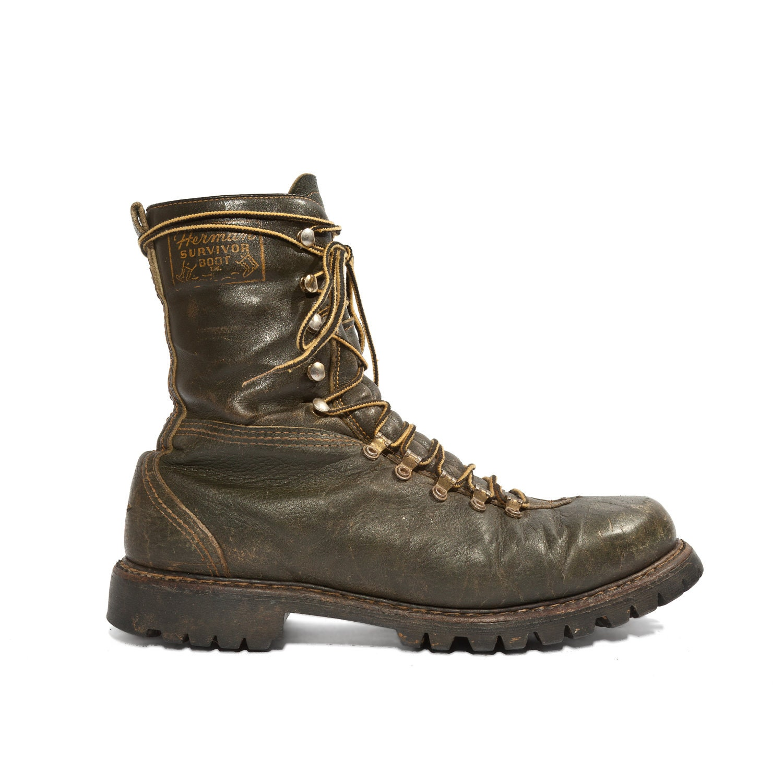 vintage herman survivor gun boots insulated outdoor boots