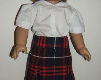 School Uniform Skirt Plaid 36 or Hamilton Plaid