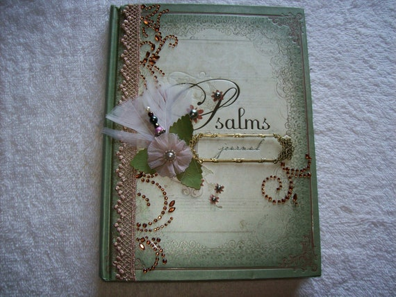 Book of Psalms Altered Journal