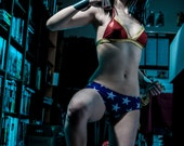 Wonder-Kini HERO-KINI by Sci Feye Candy a Wonder Woman inspired Bikini