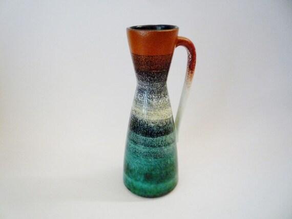 Mid Century Modern West German Vase