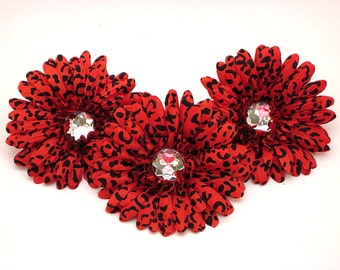 "Red Cheetah 4"" Gerber Daisy (set of 3)was 2.70"