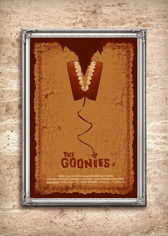 The Goonies 24x36 Movie Poster