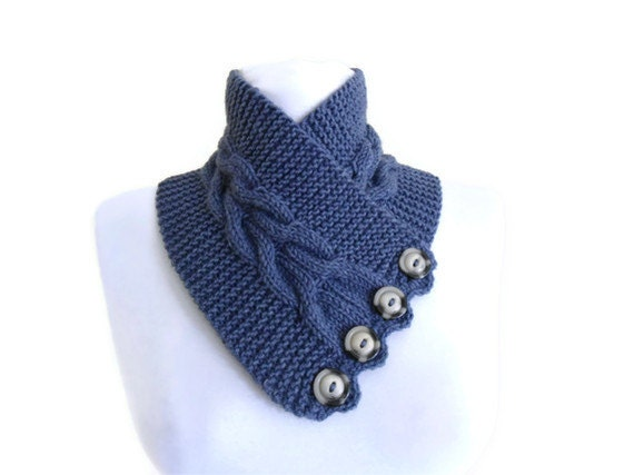 unisex, UCLA Blue, neckwarmers,  wool, hand-knitted,fashion,gift, valentine, valentines day, winter trends, fashion, 2012
