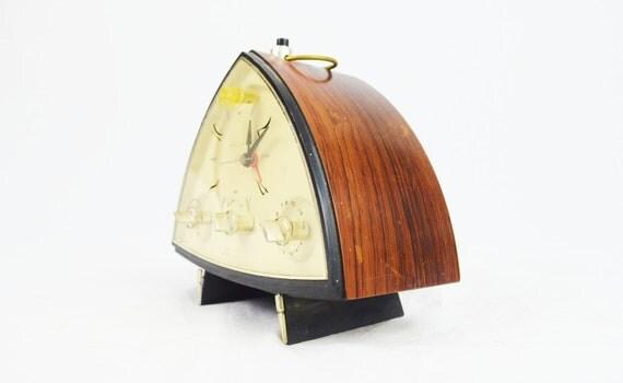 Mid Century Modern Clock Radio