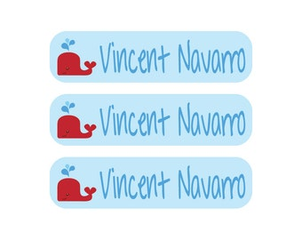 48 Personalized Waterproof, Dishwasher Safe Daycare Labels - It's never to early to start getting ready for Back to School
