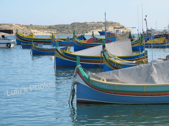 Fishing Boats of Malta, Landscape Photography