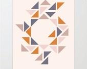 Abstract Tribal Print