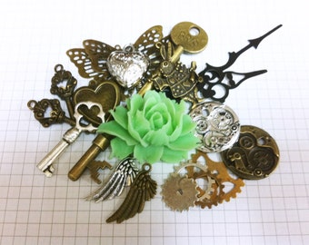 Steampunk Supply Lot Charm Pack 4