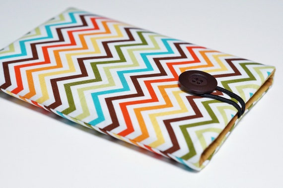 Nexus 7 Cover, Kindle Fire Cover, Nexus 7 Case, Kindle Keyboard, Blackberry Playbook, Kobo Vox Cover, Kindle Fire Case - Bermuda Zig Zag