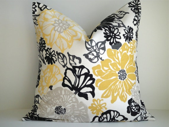 Reserved Listing for Chea- SET Of TWO- 16x16 Designer Pillow In Flora Stone