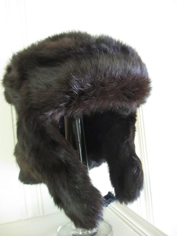 Vintage Ushanka Russian Fur Hat