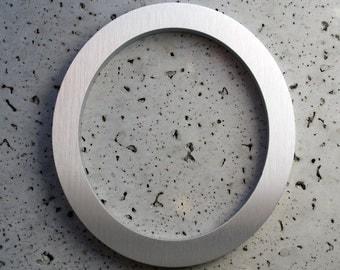 Modern House Number Aluminum Modern Font Number Zero 0